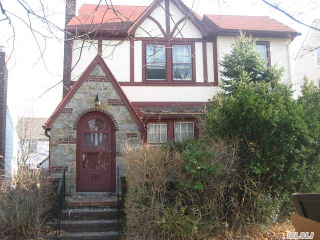 Needs Tlc- Can Be Most Charming Home. Attic Ready To Be Finished For 4th Bedroom. Hardwood Floors Throughout,  Gas In House. Master W/ Adjoining Office Or Nursery. Great Location. Taxes After Star