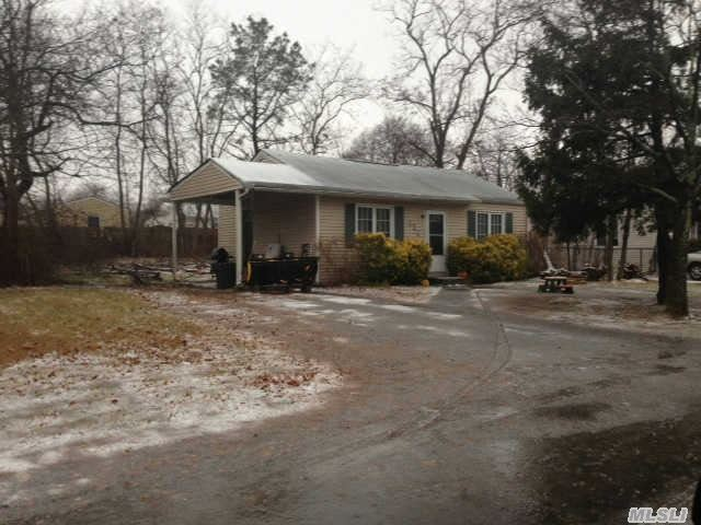 Cute 2Br Ranch With Carport. Tenant Occupied & Would Like To Stay If Possible. Cash Or 203 Rehab Loan Preferred.