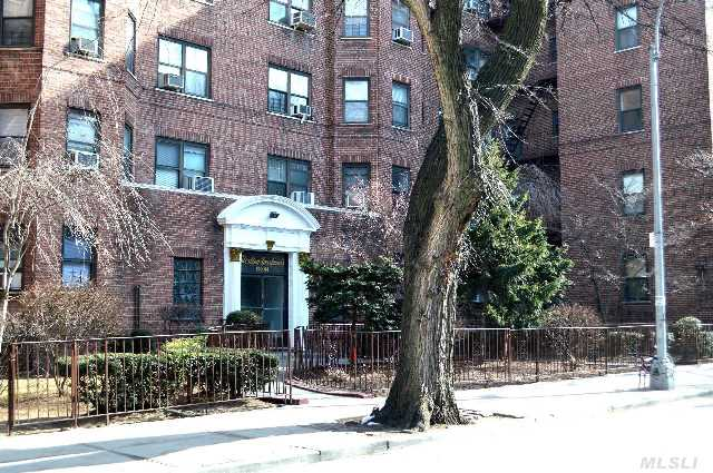Wow! True 2 Bedroom Apartment!! Spacious 2 Bedroom Co-Op Apartment Centrally Located,  Walking Distance To Everything. This Prewar Apartment Located On The Top Floor Offers Spacious Rooms,  Eat In Kitchen,  Windowed Bathroom And Hardwood Floors.