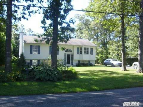 A Nice North Shirley Home Is Newly Renovated W/3 Bdrm,  1 Bath Ranch In Excellent Condition With Central Air  Longwood School District.  Priced To Sell!!