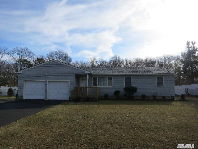 Move Right Into This Stunning Three Bedroom, 2 Bathroom Ranch,  All Redone. Including New Kitchen,  New Bathroom,  Hardwood Floors,  Ceramic Tile,  Freshly Painted,  New Windows,  Siding,  Doors,  Driveway & Deck.