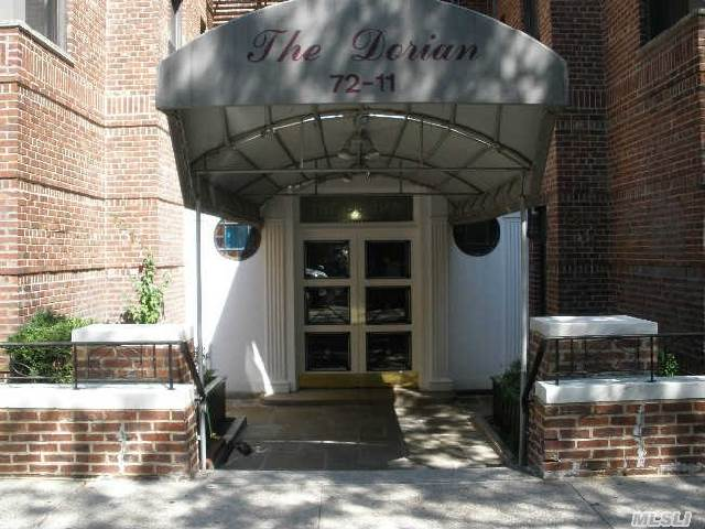 Top Floor Large 1 Bedroom Updated,  Se Exposure High Ceilings Hardwood Floors Sep Dining Area In Pet Friendly Bldg,  Ps 196 Close To 71st Cont And Lirr. Laundry On Lobby Level! Spacious And Very Low Maint! 744.80 Mo Plus Gas And Electric. Garage Is Waitlist,  Parking Avail Monthly In Adjacent Buildings.