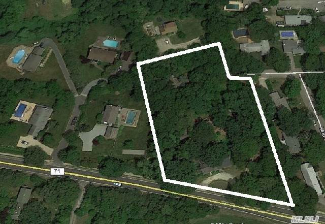Extraordinary Property For A Savvy Investor With Vision And Knowhow. Three (3) Residences On A 2-Acre Lot -- 4, 000 Sf House, 700 Sf Cottage, & 550 Sf Cottage. Feasible To Subdivide. House Layout Is Well Suited For Home Occupation Too. Alternate Access To Property From Wayne Ct. Also.
