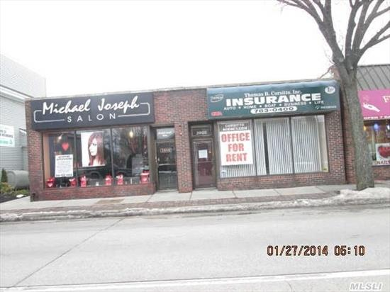 Great Merrick Road Location. Plenty Of Parking,  2 Free-Standing Storefronts.  Also For Rent,  Vacant Store $2200.