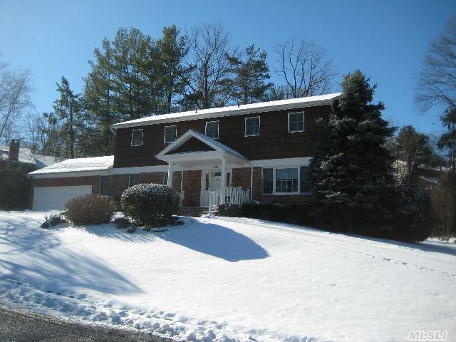 Wonderful Colonial In Perfect Location. Gourmet Eik,  Hardwood Floors Throughout,  Master Suite + 3 Family Br. Maids/Guest Room W/Full Bath On Main + Addt'l Br/Office. Gas Line Run,  Ready For Conversion. East Hills Park.