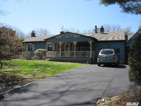 Wonderful Opportunity In Sought After North Smithtown Neighborhood. This Wideline Ranch On Just Over 1/2 Acre Flat Property Is Priced To Sell. Features: Lg Kit,  Wood Floors,  Central Ac,  New Heating System,  Full Bsmt W/Ose,  Lg Ig Pool W/Fenced In Backyard. True Taxes Are Published And Do Not Reflect Any Exemptions. Bring Your Imagination And Make This Your New Home.