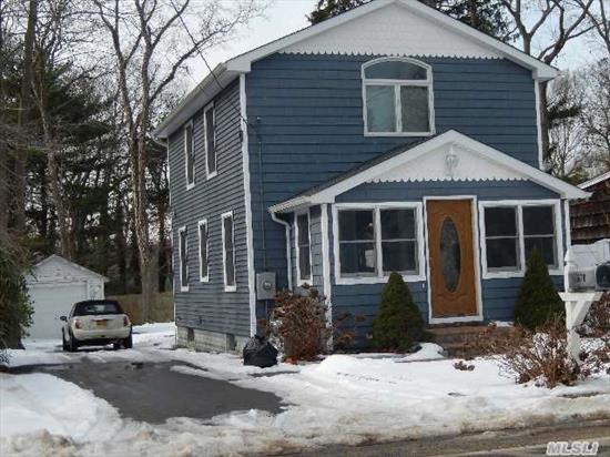 Totally Renovated In 2009,  Gourmet Cherry Kitchen W/Granite Countertops,  All Hardwood Floors,  Wainscoating In Beautiful Dining Room,  New Wood Plantaion Shutters In Living Room & Dining Room. Finished Basement (Is Totally Prepped For Heating),  Taxes W/Star $4, 435. Hbca - Beach & Mooring Rights