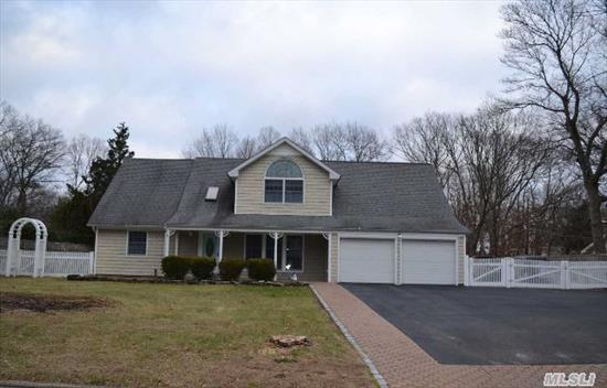 Stunning Expanded Cape With Additional Living Space And Amenities Galore,  Renovated Throughout,  5 Bdrm,  2 1/2 Baths,  Large Granite Kitchen,  Radiant Heated Floors In Den And Dining Rm,  Water Filtration System Whole House,  Anderson Windows & Slider, Cac, Walk Up Attic,  200 Amp Plus 60 Amp Sub Panel For Heated Detached Garage,  Extra Wide Driveway,  Brick Patio,  Fenced Yard, Igs