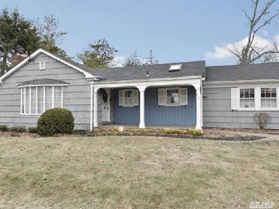 Custom-Built Sprawling Ranch With 2, 136 Sf. Lr W/Fpl,  Kit W/Skylight,  Great Room With Da,  Dining Room,  Den,  .5 Bth,  Laundry Rm,  Mbr,  2nd Br,  Fbth Has Legal Owner-Occupied Accessory Apt With Lr-Kitchenette,  Fbth & Br Which Can Easily Be Converted Back To A 4 Br,  2.5 Bath Ranch.