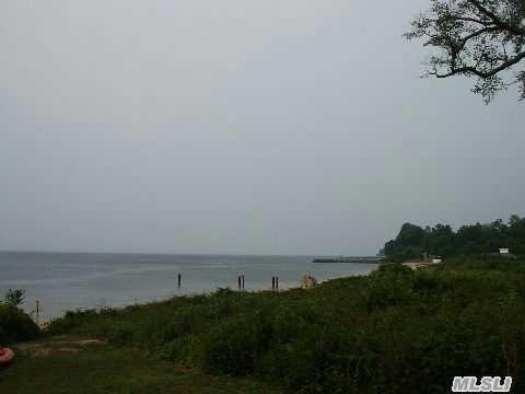 Build Your Dream Houseon The Li Sound.  Steps To Sandy Beach.