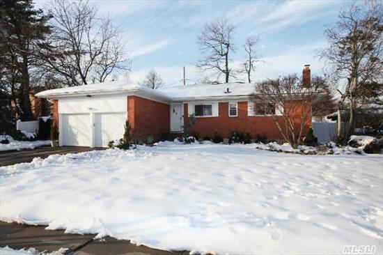 Lovely Updated Brick 3/4 Br Ranch W/Full Finished Basemt In West Birchwood.  Many Updates-New Kitchen W/ Ss Appl,  New Bths,  Heat/Cac,  Hw Tank,  Refinished Hw Flrs,  New Pvc Fence,  Roof,  Gutters,  Leaders And More! Os 2 Car Garage. Seller Would Consider Incl Some Furniture