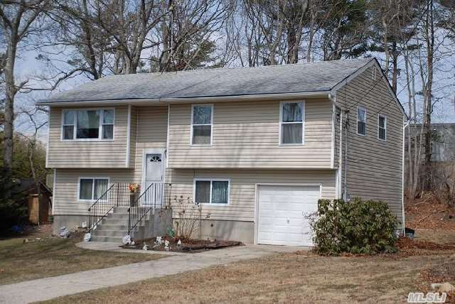 Very Nice 4 Bedroom,  One And A Half Bath Raised Ranch. Hardwood Floors Throughout. Excellent For Mother Daughter. One Car Garage. On A Large Piece Of Property. Kitchen,  Bathroom,  And 200 Amp Service Have All Been Updated.