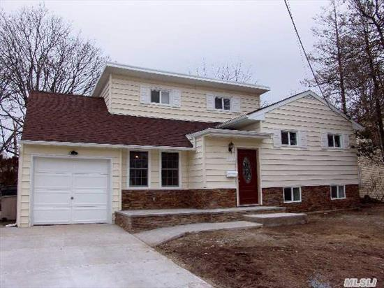 Nothing To Do But Move Right In To The Diamond Split In The Lovely Estates Area.   New Granite Eat-In-Kitchen,  New Bath,  New Siding,  Upgraded New Electric And Heating,  Central Ac,  Flood Insurance Quote Of $689/Year Available Upon Request.