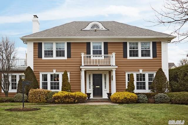 This Elegant Center Hall Colonial In Mint Condition Has An Ideal Floor Plan. Beautiful Entry Foyer,  Large Fdr W/Fp,  Flr,  Huge Eik W/Island & Brkst Area That Flows Into Family Rm W/Fp,  Den Or Br,  Pr. Mbr Suite W/Young Bath,  Wic,  Office/Nursery,  3 Addl 2nd Fl Brs,  Young Hall Bath,  Hall Staircase To Large Storage Attic. Rec Rm Basement & Gym,  Brick Patio,  Cac,  5 Zones Of Heat