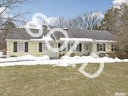 Great Opportunity To Own In Cold Spring Harbor! Meticulously Maintained Farm Ranch Located On Serene,  Shy .5 Acre. Updates Incl: Cac,  Roof,  Driveway,  Paver Walkway,  Freshly Painted Exterior & Alarm System. Relax In 3- Season Sunroom While Enjoying Pvt Setting. Convenient To Csh & Huntington Villages. Endless Possibilities! Make This Home Your Own.