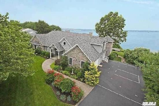 Magnificient & Sought After Npt Vlg Beachfront W/ Sweeping  Unobstructed Views Of The Harbor. Colorful Sunsets,  Regattas,  Swim,  Kayak,  Boat,  Fish,  Relax, Custom Built In 05,  Unaffected By Sandy! Chefs Eik W/ Hardrubbed Cabs/Granite,  Bar,  Wine Cooler,  Stunning Mstr Suite W/ Ba & 2 Wic's. Custom Beach Cottage N More! Virtual Tour Is Live!