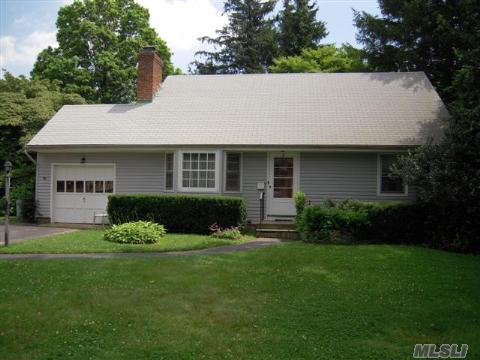 Location Is Everything Here! 4 Bedroom 2 Bath Cape Cod.  Full Basement. 1 Car Attached Garage.