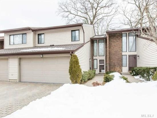 Pristine Brookville Model With Cherry Wood Cabinets & Granite Counter Tops,  Stainless Appliances,  Wood Floors  & New Baths. Located In A Private Cul-De-Sac With A Rear Deck. Full Service Gated Community. Ready For A Fast Occupancy