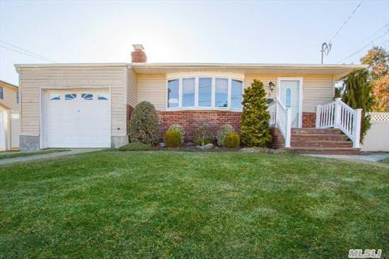 Renovated 3/4 Bedrm Ranch W/ Full Fin. Bsmt In Cul De Sac.  Updated Eik And Baths,  New Refrig And Microwave,  Moldings,  Hw Flrs,  New Patio,  Fencing,  Retractable Awning,  Vaulted Ceiling In Kitchen And Bath.