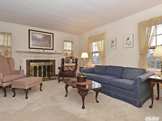 Lovely Cape Situated On Quiet Street In Manhasset. Living Room With Fireplace,  Dining Room,  Eat-In-Kitchen,  Den,  Master-On-Main,  2 Bedrooms,  2.5 Baths.