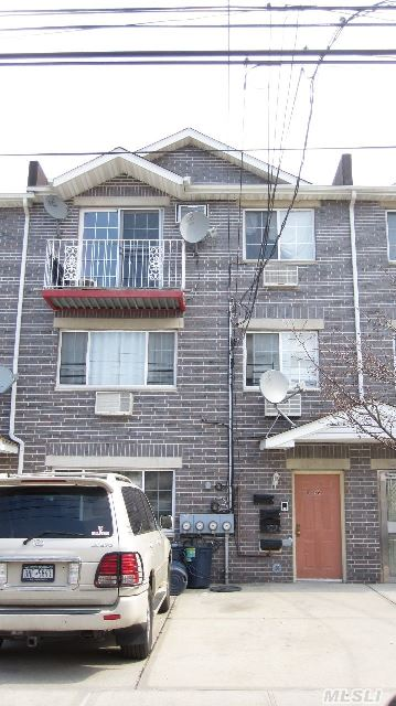 3 Family Home In Mint Condition!! All Floors Rented,  Good Income For Investors!!! 1st Floor: Living Room,  Dining Room,  Kitchen,  Mbr W/1 Bath & Bedroom,  1 Bath & Backyard 2nd Floor: Living Room,  Dining Room,  Kitchen,  Mbr W/1 Bath,  2 Bedroom,  1 Bath 3rd Floor: Living Room,  Dining Room,  Kitchen, Mbr W/1 Bath,  2 Bedroom,  1 Bath & Balcony Basement: Full Semi-Finished