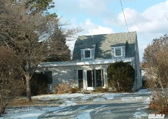 House,  Cottage & Large Storage Shed On 1-Acre Lot.  Tremendous Potential. Great Opportunity For An Investor. Refurbish Existing House,  Renovate Or Rebuild Cottage & Potential To Expand Footprint Of Structures By 50%.  Much Room For Pool. Huge Backyard. Close To All That Westhampton Beach Has To Offer. 1/2 Mile To Main St.