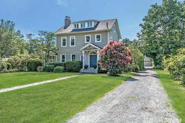 Classic Circa 1878,  Vintage Colonial In South Bayport Set On Beautiful .89  Acre Property.  This Home Features Entry Foyer,  Formal Living Room With Fireplace,  Sunroom With French Doors,  Formal Dining Room,  Eat-In-Kitchen,  Powder Room,  Second Floor With Master Suite,  Two Bedrooms,  Full Bath,  Third Floor With Bedroom And Office. Enjoy Part Of Bayport's Rich History.