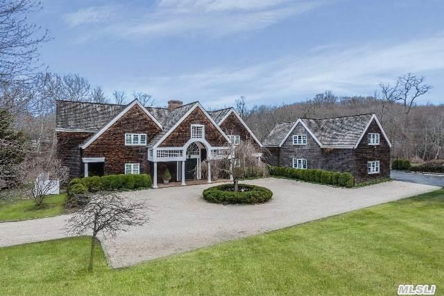 Fabulous 6 Br Southampton Style Colonial On 5 Beautiful Acres In Mill Neck. Gracious Entertaining Rooms With High Ceilings,  Lovely Moldings,  Gleaming Wood Floors. Eik With High End Appliances,  Luxurious Master Suite W/Fp & His & Her Bths,  All Bedrooms Ensuite. Large Playroom W/Br/Bth Or Private Suite. Sweeping Views To Tranquil Pond. Purchasers To Verify Taxes And Info.