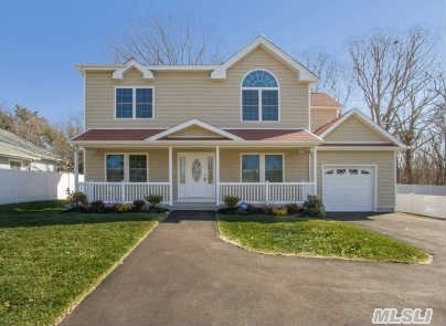 If You Want All New Construction Then You Must View This Colonial With 4 Bedrooms,  2.5 Baths,  Full Basement With Ose,  Hardwood Flrs,  Cac,  Master Suite,  Front Porch, 2 Decks,  Large Driveway,  Garage,  Kings Park Schools. Taxes With Star $11K. Again All New Construction