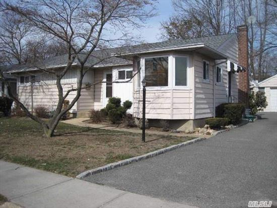 Expanded 3 Bedroom Ranch Just Waiting For Your Personal Touch.