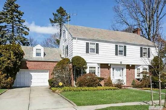 Classic Old Canterbury Colonial In A Prime Village Location With Golf Course Views. The House Features A Large Elegant Foyer With A Bridal Staircase. Beautiful Moldings & Archways Thruout. Master Bdrm With Bath,  3 Addl Bdrms & Hall Bath. The Back Staircase Leads To A Private Bdrm With Bath. Perfect Guest/Nanny Quarters. This Is A Rockville Centre Classic Not To Be Missed.