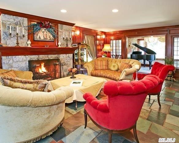 Mahogany Living Room