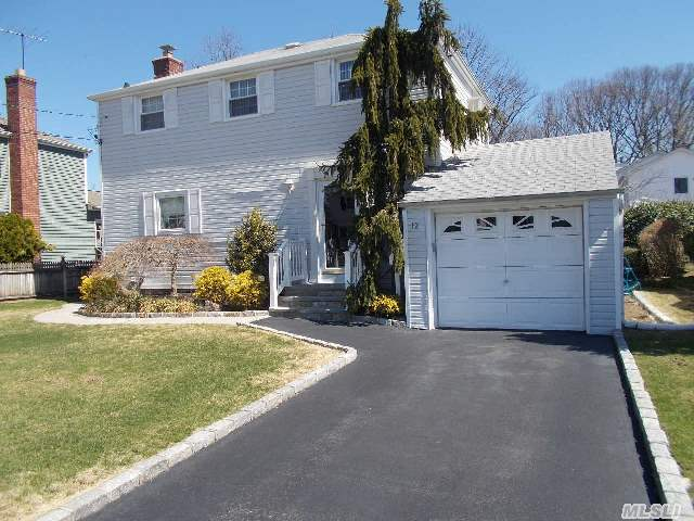 Charming Mint Condition Crest Colonial, Granite E-I-K,  Hardwood Floors Thruout,  Fin.Bsmt,  3Brs,  Full Bath, Living Rm W/Sliders To Deck, Spacious Backyard For Family Run & Entertaining.