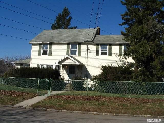 Priced To Sell--The Perfect Colonial Starter On Over-Sized Lot.  Ready For A Restoration To Bring It Back To Grace!