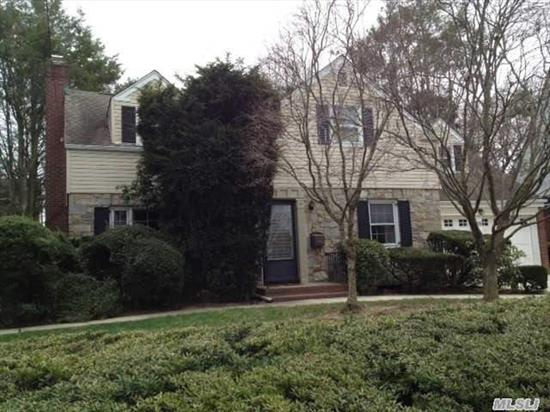 Brick And Fieldstone Colonial W/All Large Rms, Heart Of The Woods,  Large Living Rm With Fireplace,  Spacious Den Extension,  Rear Covered Porch,  2001 Gas Burner, Architectual Roof,  Wood Floors,  2 Car Garage,  Great Curb Appeal,  Low Taxes,  Very Clean!