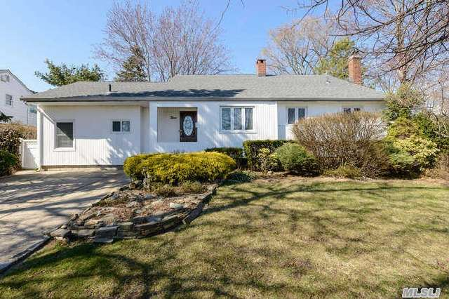 Fabulous 4-Bedroom Split Level Home With New Kitchen And Mother-Daughter Layout. Wonderful Dining Room W/Custom Built-Ins And Vaulted Ceiling,  Dual Fireplace Living Room And Den,  Sliders To Great Deck With Gorgeous In-Ground,  Natural Gas Heated Gunite Pool. Separate Entrance For Mother-Daughter. Wonderful Opportunity! Taxes Have Not Been Grieved.