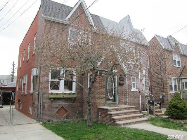 Semi Attached Brick Tudor With 3 Bedrooms,  1.5 Updated Baths. Updated Eik Beautiful Hardwood Floors,  Full Basement. 1 Car Detached Garage.