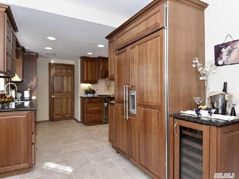 Sub-zero and wine refrigerator