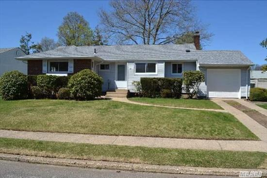 Welcome Home To This Beautiful Bright/ Sunny Ranch Priced To Sell ! New Kitchen W/ Stainless Appliances & Granite Counter Tops,  New Roof,  Electric Service,  Hw Heater,  Bathrooms,  Refinished Hardwood Floors Though Out,  Crown Moulding. Walk To Baylis Elementary School ! Turn Key Move In Ready ! Room To Expand... Syosset Schools !