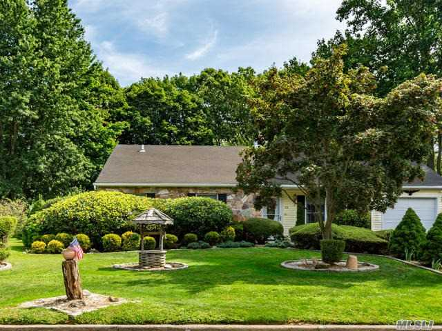 Beautiful Setting On Large Manicured Property With Gazebo, And Pond To Enjoy The Outdoors. Lovely 3 Bdrm Ranch Offers Spacious Kitchen Flowing Into The Large Family Rm With Stone Fireplace, Liv Rm, Florida Rm Overlooking The Private Gardens, 3 Bedrooms, 2 Full Baths, Cac, Shed, Garage, Ig Sprinklers, Close To University In A Lovely Neighborhood!