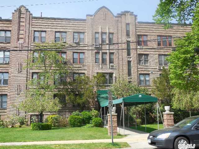 Fabulous & Spacious Sunny Corner  Unit In Elegant Pre-War Elevator Bldg In The Heart Of Woodmere.  Plenty Of Closets Throughout... A Must See! Outdoor Parking $40/M. Indoor Parking $60/M.
