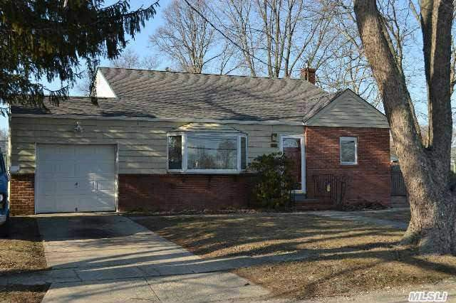 :Front To Back Split With Potential. Large,  Very Sunny Lr With Vaulted Ceilings,  Eik,  Den,  Laundry,  Interior Entrance To The Garage. 3 Br's 2 Full Baths. Needs Tlc. New Roof Great Location. Larger Than It Looks,  Must See To Appreciate