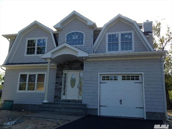 New Construction-June Completion! Exquisite New Construction In N.Syosset! Magnificent Colonial-4 Bdrms/2.5 Bths W/Full 8'Basement! Dbl Hgt Ent, Lvrm, Form Dr, Open Layout W/Fam Rm &Fpl & Spacious Eik W/Granite Isl, Ss Appls, Gas Cook & Heat. Stunning Master Ste W/Fbth, Cath Ceil & 2 Lg Closets, 3 Bdrms, Fbth & Laundry!Beautiful Details!S. Grove Elem, Close To All Transp.A True Gem
