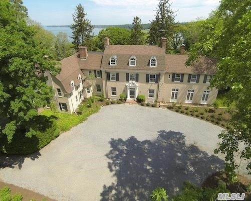 Welcome To Cedar Knoll...Stately Georgian Style Manor Home On 2 Acres With Wonderful Water  Views. Exquisite Old World Architectural Appointments/Craftsmanship And Recent Updates For A Designer Showhouse Enhance The Interior Which Features 7 Fireplaces,  High Ceilings & Banquet-Sized Rooms,  New Gourmet Kitchen,  Updated Bathrms And So Much More.  Must See To Appreciate!