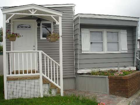 Beautifully Redone Inside & Out All Redone 2 Bdrms, Lr, Kitchen, Bath, 8X10 Shed, New Electric. Maintenance Is $710.00 Per Month