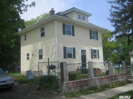 Adorable 4 Bedroom Colonial Completely Renovated In 2011 W/Super Low Taxes! New Energy Efficient Gas Heating,  Kitchens,  Baths,  Roof,  Siding & Windows. Flat,  Fenced In Yard,  Close To Shopping & Public Transportation! Don't Miss!