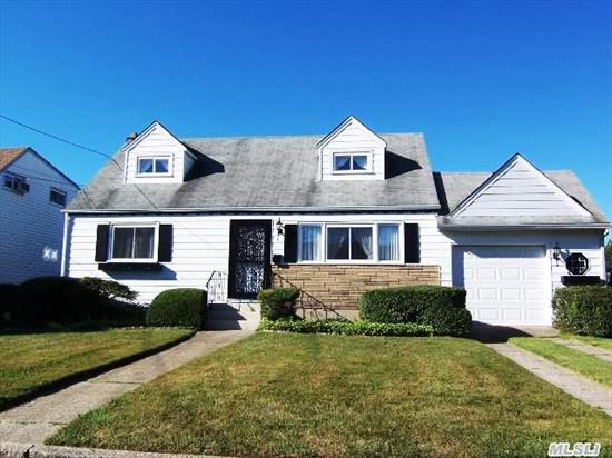 Quiet Dead End Street Convenient To All! Taxes After Star Only $6717.  Nice Size Cape With King Size Master Bedroom,  Full Basement,  1 1/2 Garage,  Hardwood Floors,  Updated Heating System,  Fenced Yard And More !!!