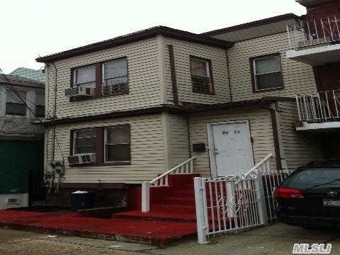 2 Family 5 Bedrooms 3 Baths, Great Investment!! Viewing For This Property Will Start On The Week Of July 2nd!!!!!!!!!!!!! 1st Floor Rent $ 1266.77 2nd Floor Rent $ 1433.14