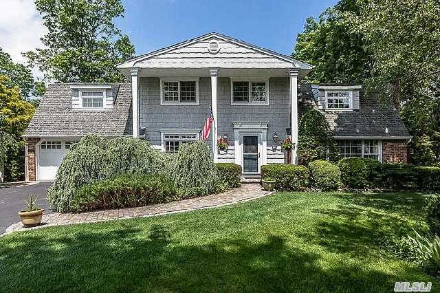 Large Colonial W/Many Updates In Great Neighborhood. Possible Mother/Daughter With Proper Permits.  Features Designer Kitchen W/New Appliances,   Formal Dining Room And Living Room,  Updated Baths,  Den W/Fplc,  4 Season Room,  150 Amps,  Custom Molding.  Country Club Backyard Features  Patio W/Pavers,   Cabana W/Bath &  Gazebo. Custom Ht Is A Gift.. Move Right In!