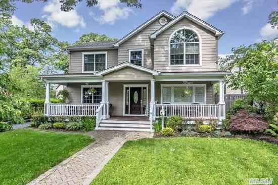 Stunning Post Modern Colonial,  Rebuilt In-2003. 4 B/R 2.5 Baths,  L/R W Fpl,  Stainless Steel Appliances,  Located In The Heart Of The Village.   Legal Apartment Above Garage W/Letter In Lieu. Au Pair Residence/Apt Above Detached  Garage- 2 B/R,  L/R ,  Kitchen & Full Bath With A Washer/Dryer. Apt Has Separate Meters-Electric & Gas-Rental Income Presently $1, 500 A Month
